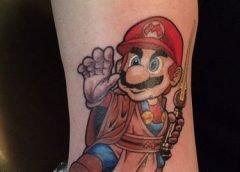 Tatuaje Mario Star Wars