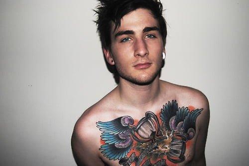Tatuaje alas premio