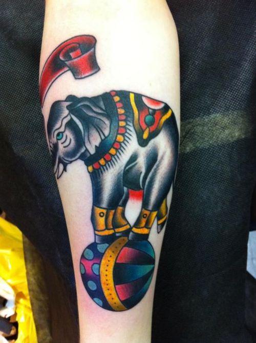 Tatuaje elefante