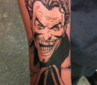 Diseño de tattoo de una sirena