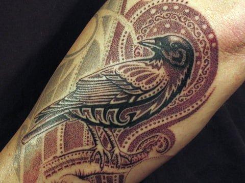 tatuaje pájaro