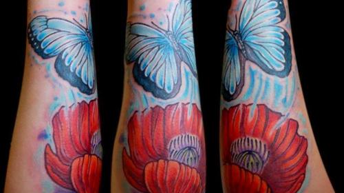 Tatuaje de una huella