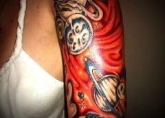Tatuajes colores