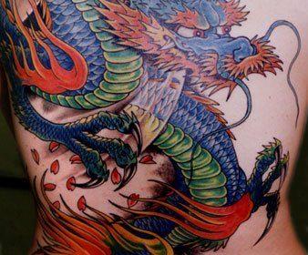 Tatuaje en el hombro y brazo