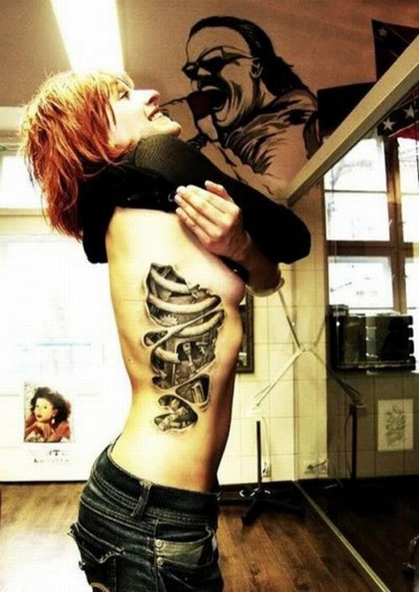 tatuaje cyborg