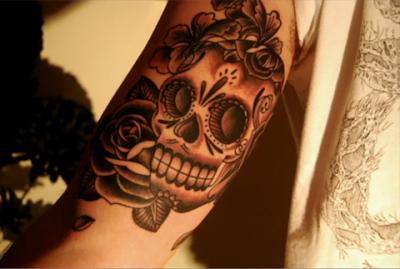 tattoo de calavera