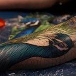 Tatuaje de un lindo zorro en la muñeca