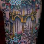 Tatuaje Rosa en el hombro
