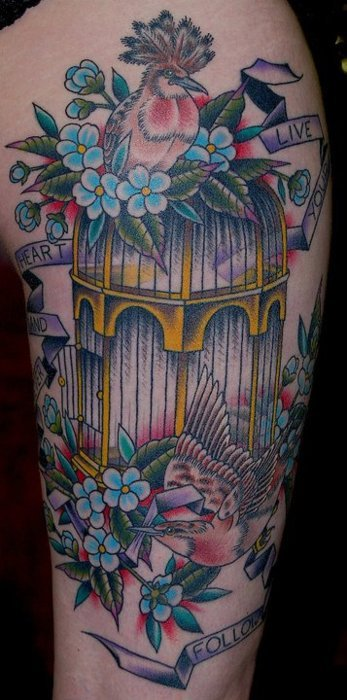 tattoo jaula