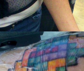 tattoo tetris