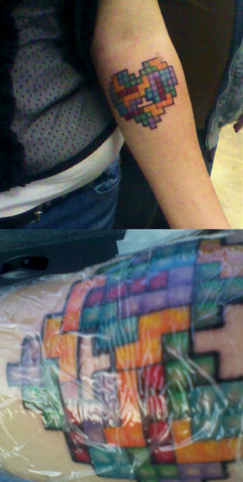 tattoo tetris