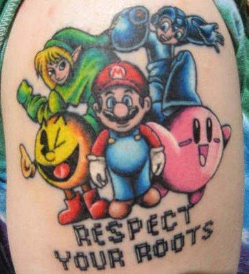tatuaje gamer