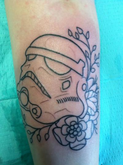 tatuaje stormtrooper