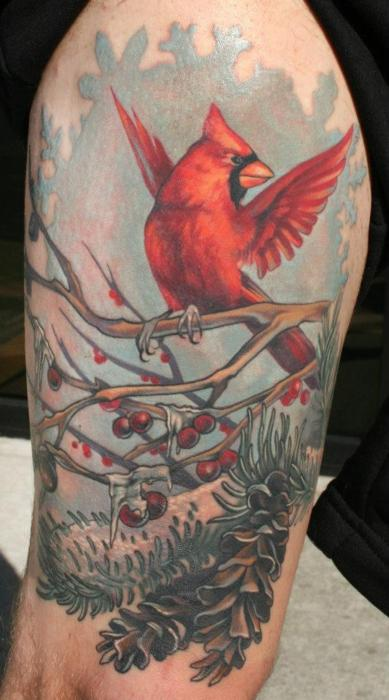 tattoo de pajaro