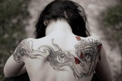 sexy tattoo back
