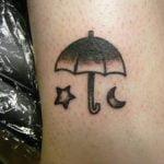 Tatuaje de la torre Eiffel