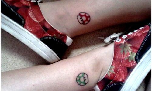 tattoos mario bros