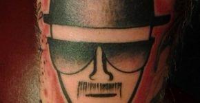tatuaje breaking bad