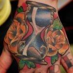 Tattoo superman en el pecho