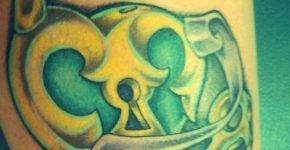 tattoo cerradura