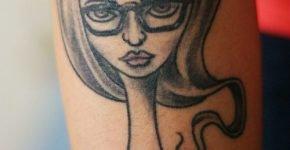 tatuaje caricatura
