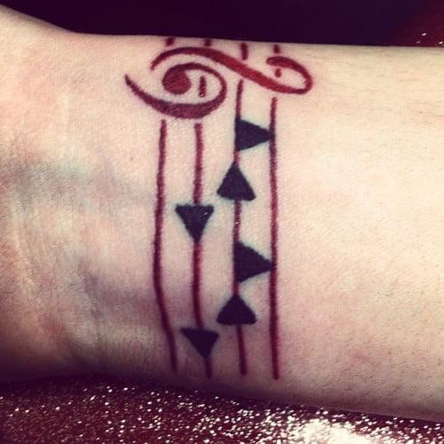 zelda song tattoo