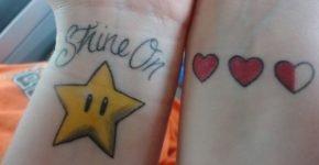 tatuake geek Mario y Zelda