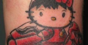 tatuajes hello kitty
