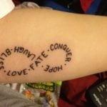«It's All Right» tattoo