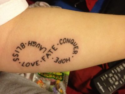 tatuajes infinito
