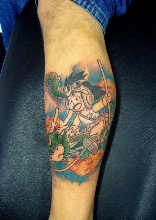 tatuaje dragon ball
