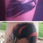 Tatuaje de músculos en el brazo