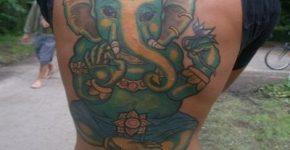tatuaje dios hindu