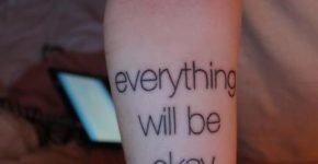 tatuaje todo estará bien