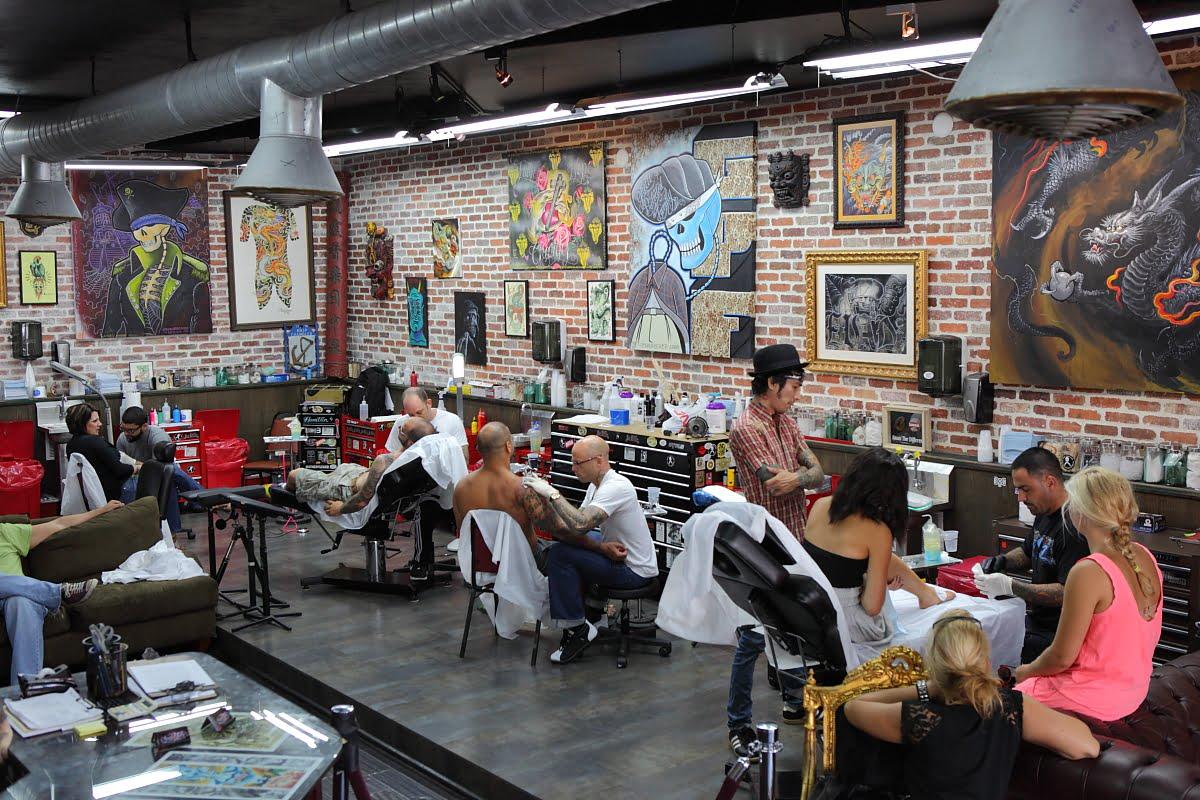 De diseos tatuajes para mujeres y hombres miami ink for Ink tattoo shop