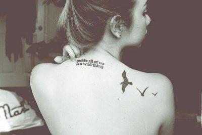 tatuajes en la espalda para chicas