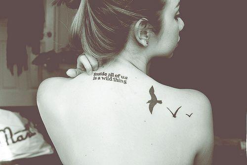 tatuajes en la espalda para minas