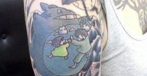 totoro tattoos