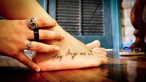 Dog days tattoo