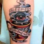 Tatuaje demonio en el pecho