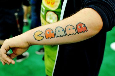 Tatuaje Pacman