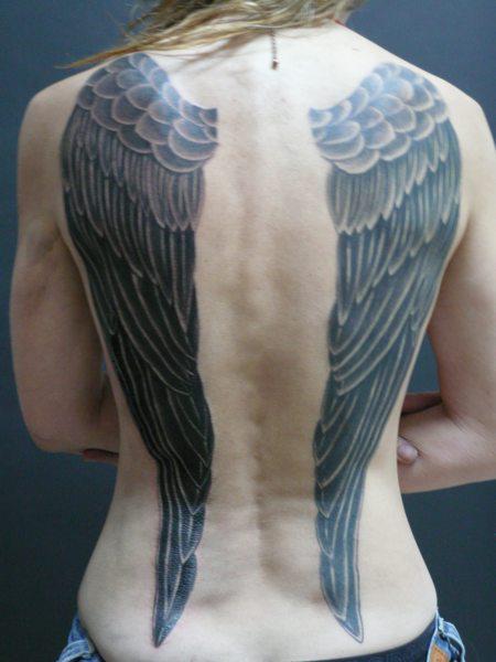Tatuajes Alas Espalda Una Vez Que Haya Tomado La Decisin De Ignorar