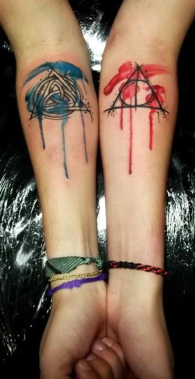 Par de tatuajes brazos