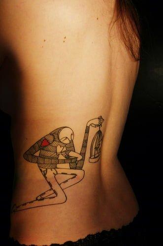 tatuaje original espalda