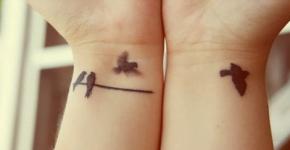 tatuajes pajaros muñecas