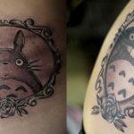 Tatuaje diablillos en el brazo