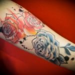 Tatuaje japonés en el brazo
