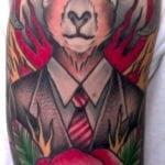 Tatuajes en el antebrazo joven