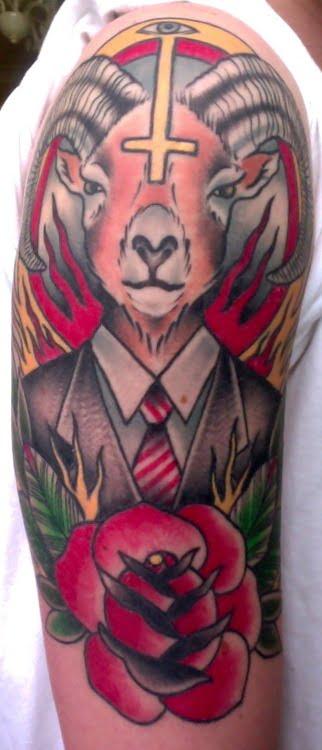 tatuaje baphomet