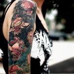 Tatuaje de Calvin & Hobbes